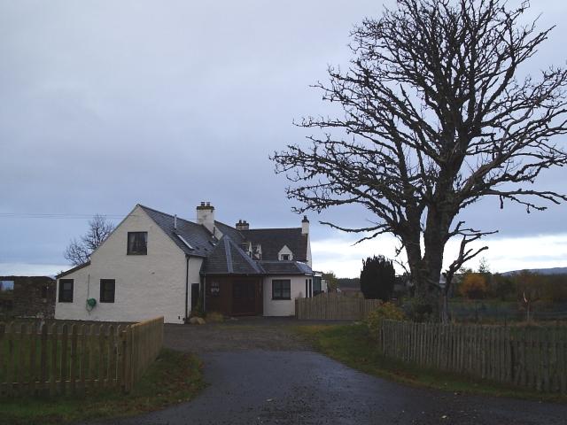 Dusk at Aultnamain Inn