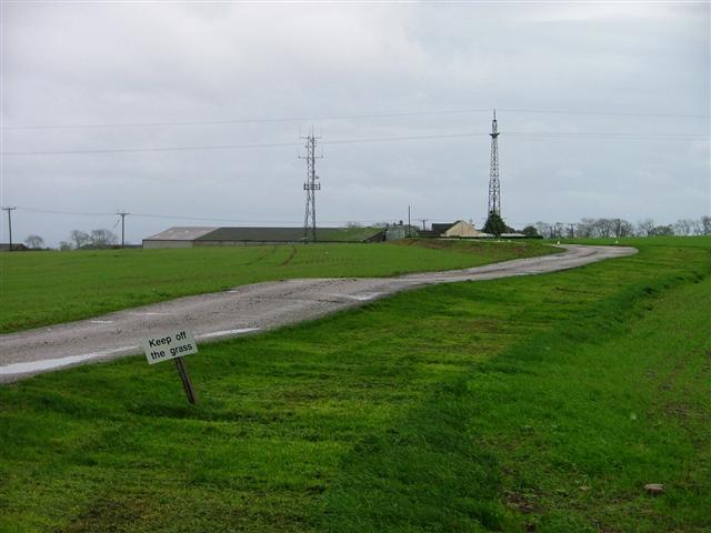 Telecomms Mast at High Merrybent Farm