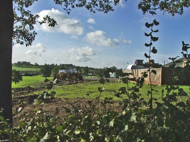 Farmland at Woodhurst Farm, Cattlegate Road