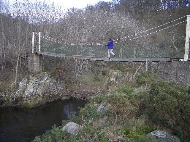 Elba suspension bridge
