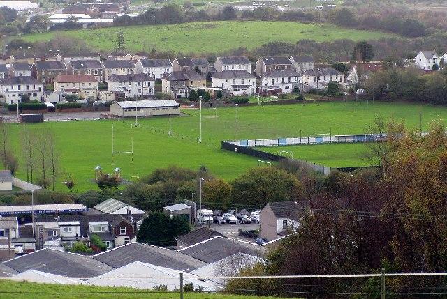 Playing fields, Skewen.