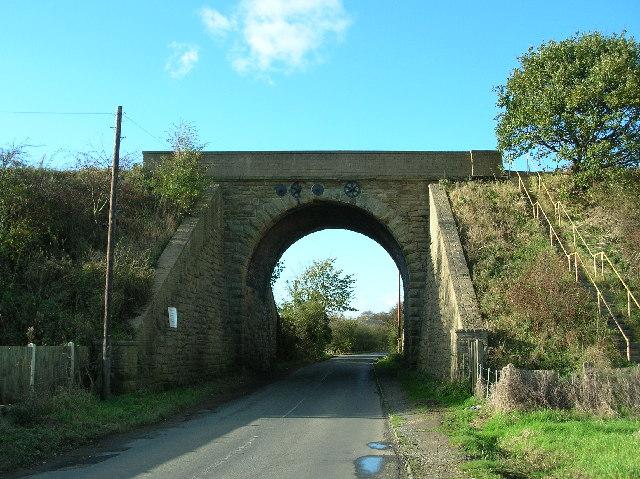 Countryside Railway Bridge, Low Ackworth