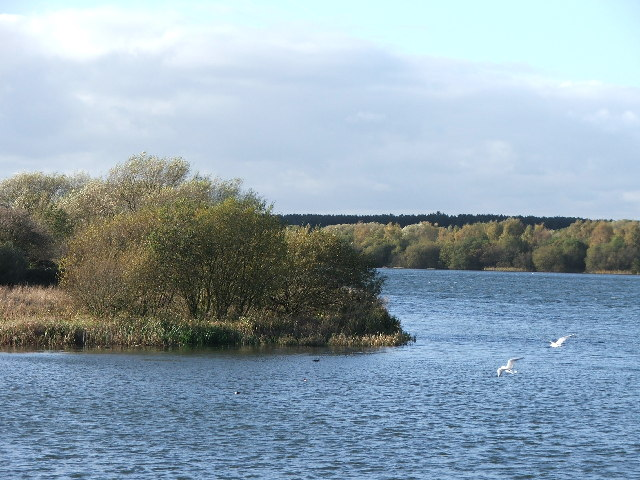 Wintersett Reservoir.
