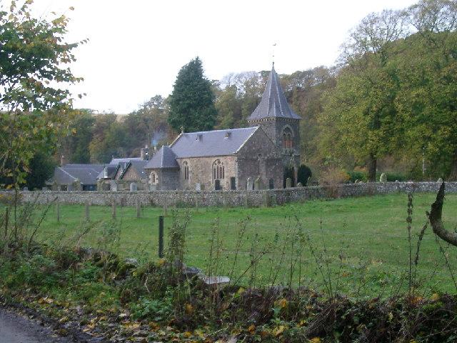 Abbey St Bathans Kirk