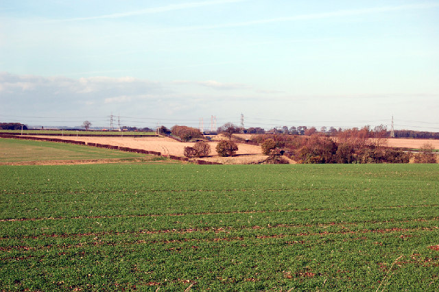 Looking towards the Brigg Road