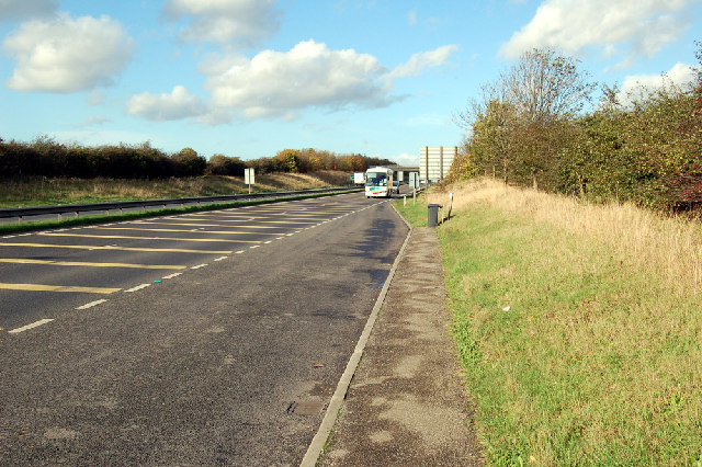 Near the Barnetby Interchange