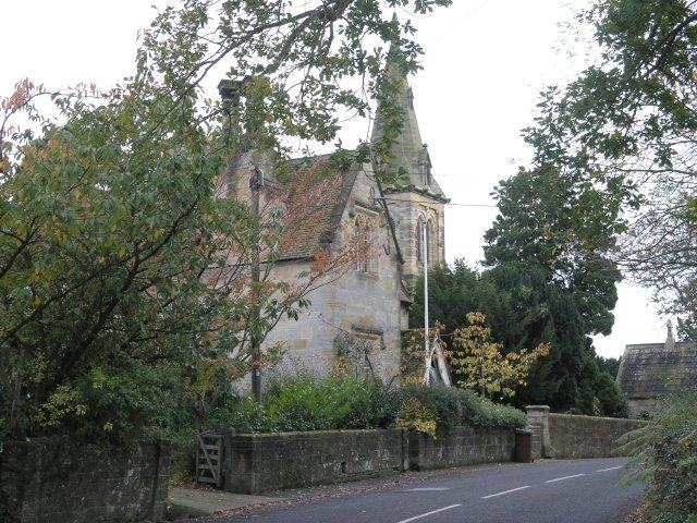 Kilndown Church and a Village House