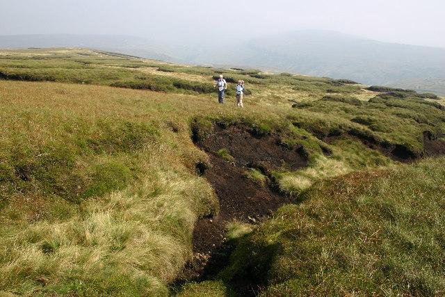 Peat Hags near Buckden Pike