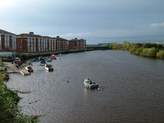 River Tees Taken From Victoria Bridge, Thornaby