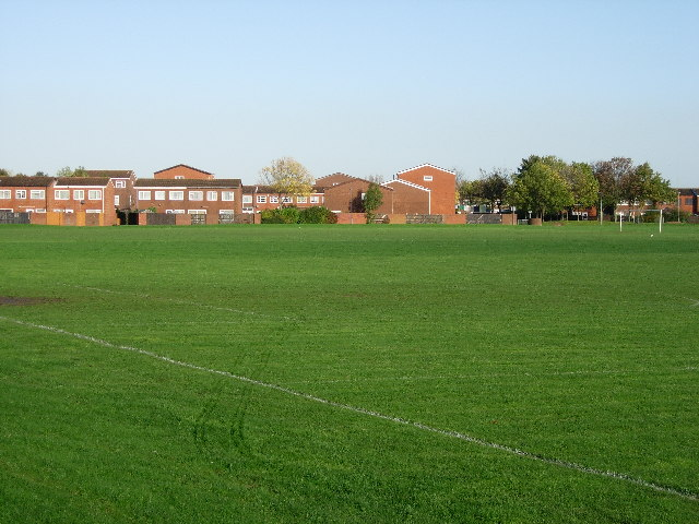 Playing fields on edge of Gosport