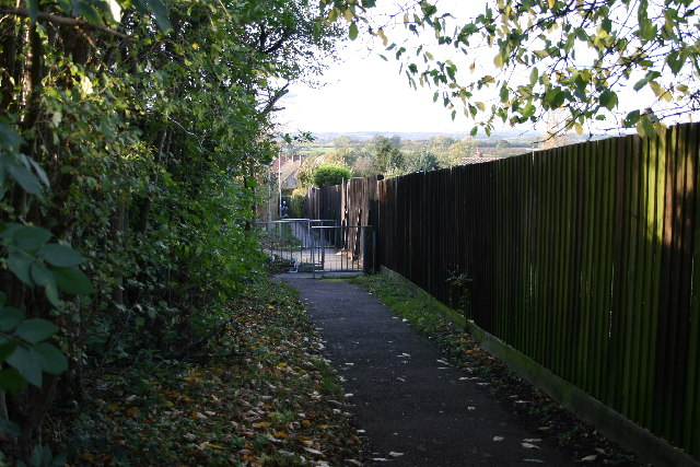 Footpath, Glenfield, Leicester