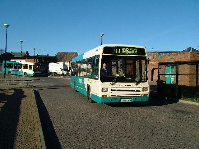 Arriva Leyland Lynx Bus, Bishop Auckland Bus Station