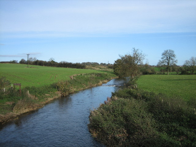 River Lagan looking downstream from Steps Bridge