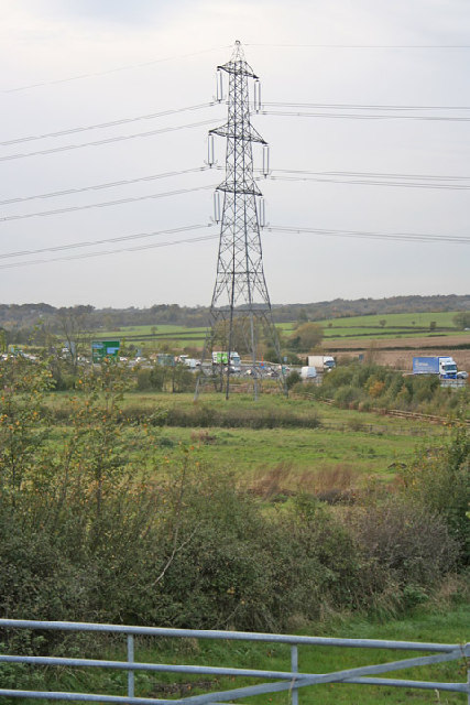 Western Bypass from Gynsill Lane, Glenfield