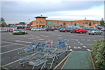 SK5607 : Beaumont Leys Shopping Centre by Kate Jewell
