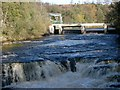 NS8840 : The weir at Bonnington Linn by Gordon Brown