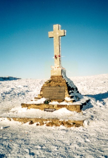 Buckden Memorial Cross