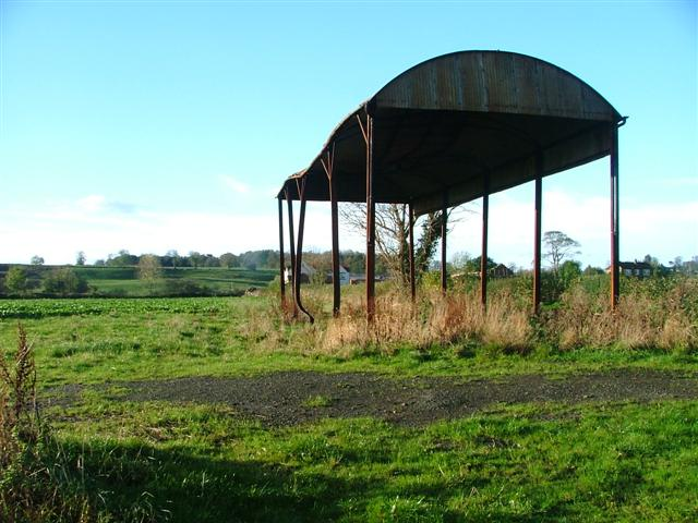 Open Sided Barn at Low Middleton Farm