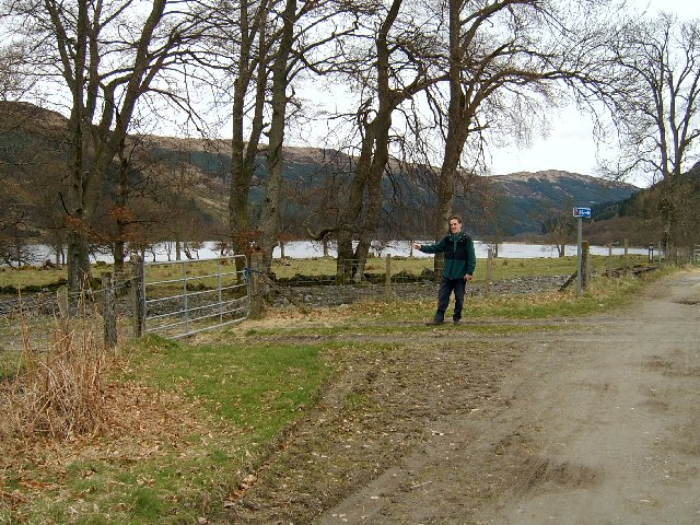 Loch Lubnaig cycle track
