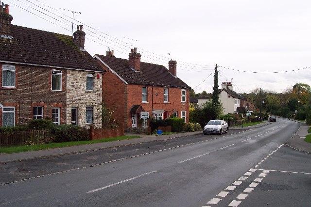 Copthorne village - main road.