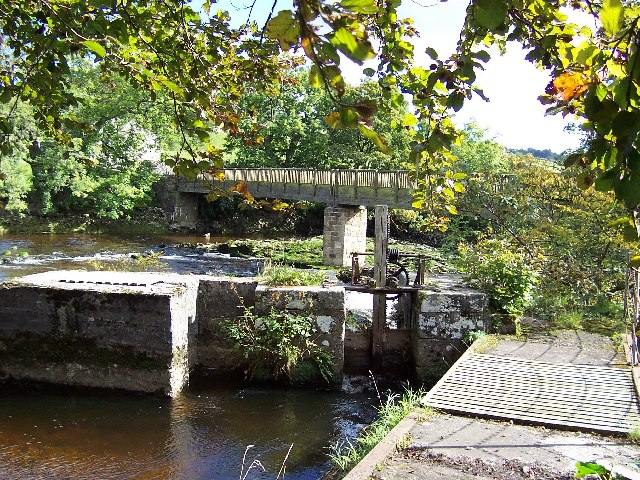 Tin Bridge over Linton Falls