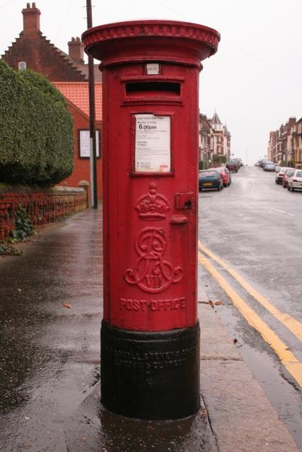 Edward VII Postbox, Cabbell Road, Cromer