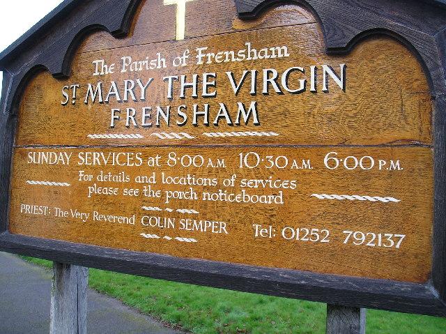 The Parish Board, Frensham