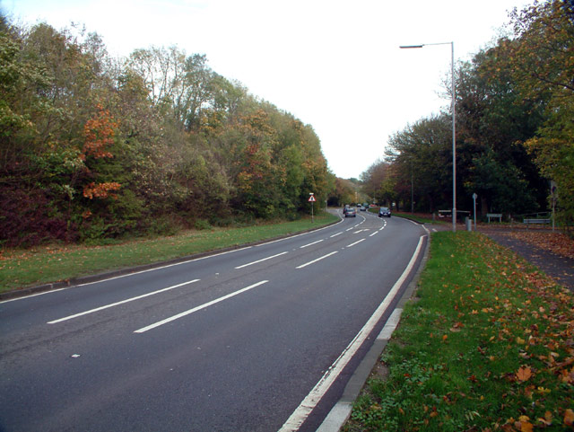 A21 Sevenoaks Road near Pratt's Bottom BR6