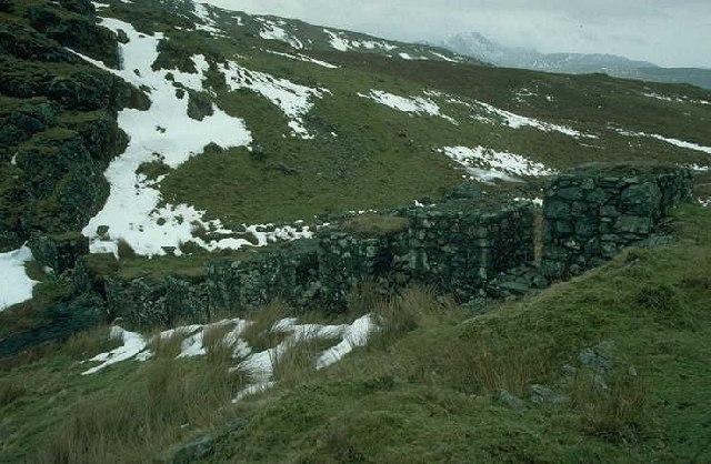 Bwlch Oerddrws tank traps