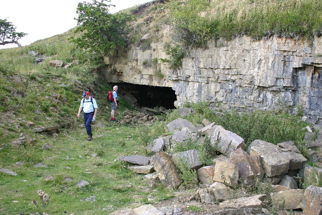 Stone Quarries Above Carperby