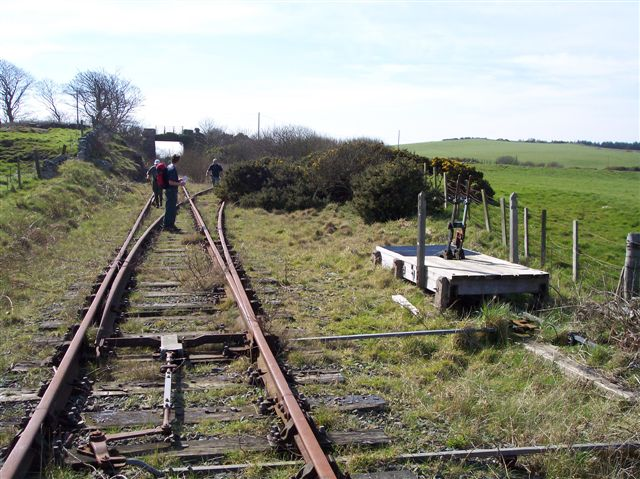 Disused railway junction, Anglesey