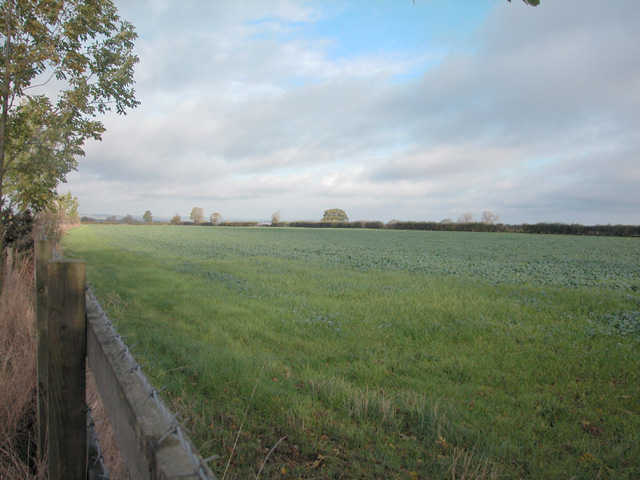 Evesham Road farmland