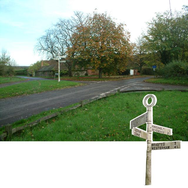 Letts Green crossroads, Knockholt TN14