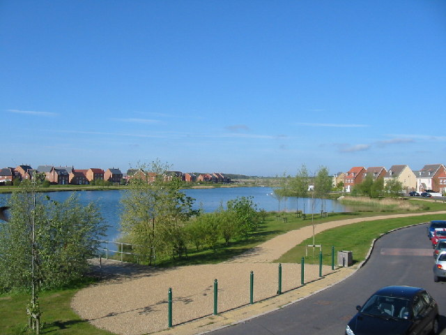 The View from Lakeview Way, Hampton Hargate
