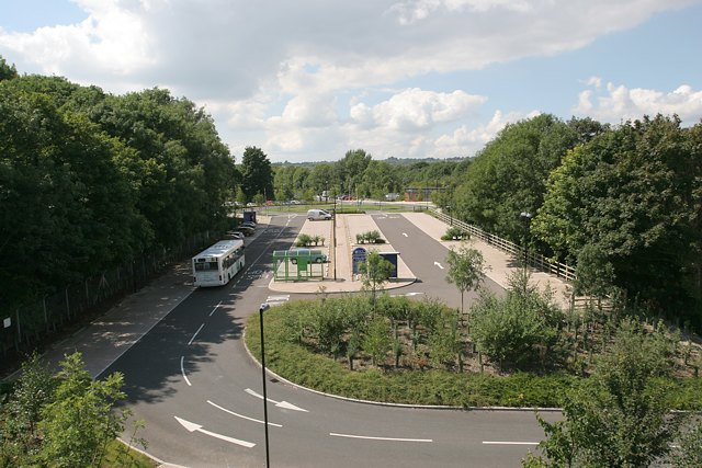 Bar End park and ride, Winchester