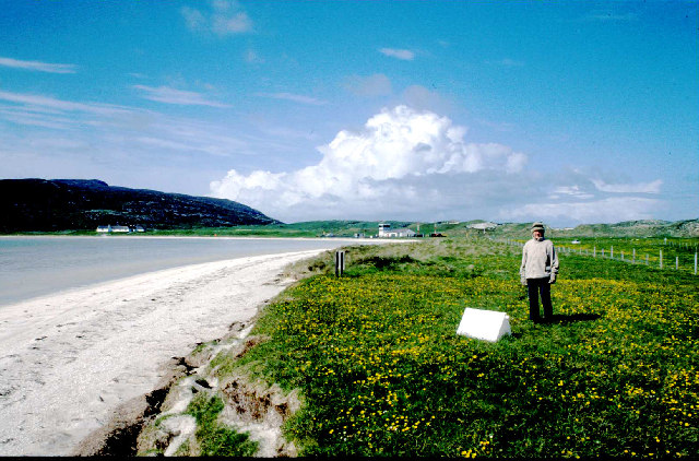 Cockleshell strand and airstrip, Barra.