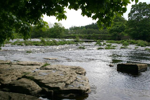 The River Tees at Whorlton