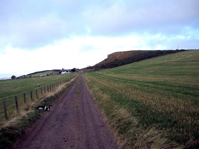 Routin Lynn farm track