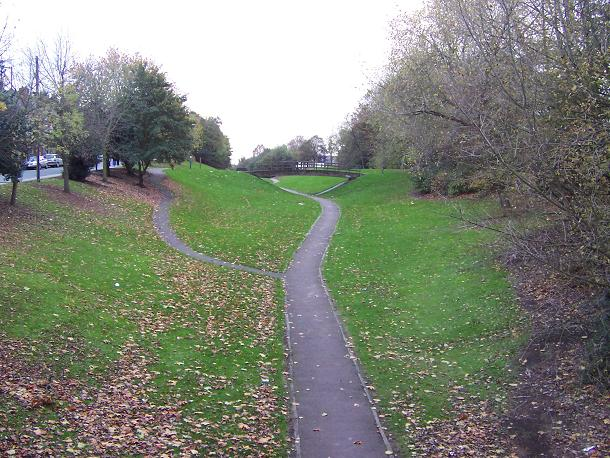 The Railway Cutting, Victoria Park, Darlaston