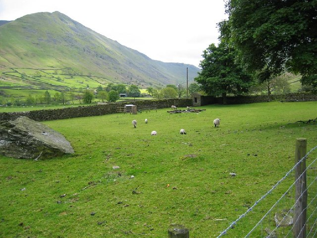 Lambing Time, Hartsop Hall, near Brothers Water
