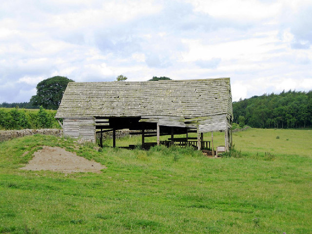 Ancient Wooden Barn