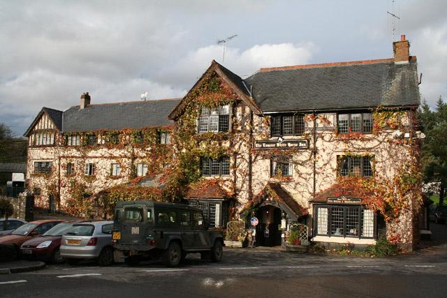 Exford: The Exmoor White Horse Inn
