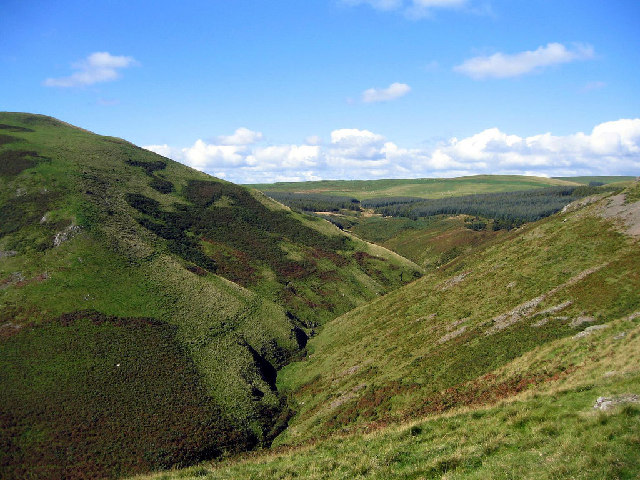 Alwinton Burn seen from Clennell Street