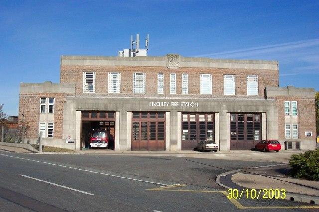 Finchley Fire Station, Long Lane, London N3