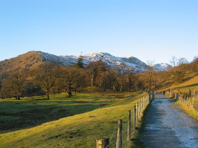 The Path through Rydal