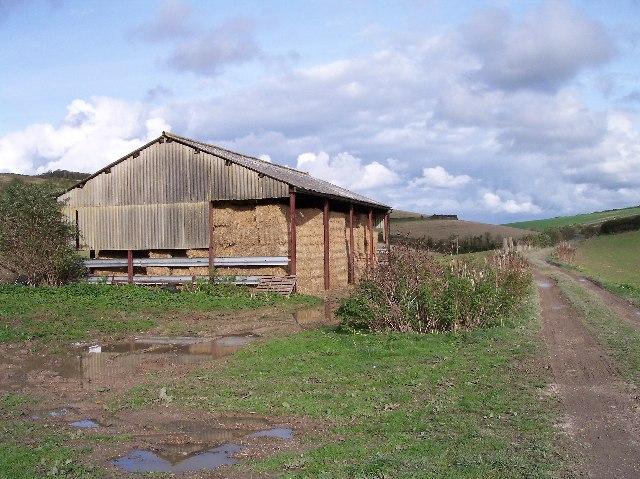 Asbestos Barn near Rowborough Farm