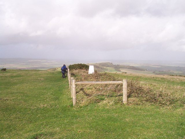 Trig Point on St Catherine's Hill