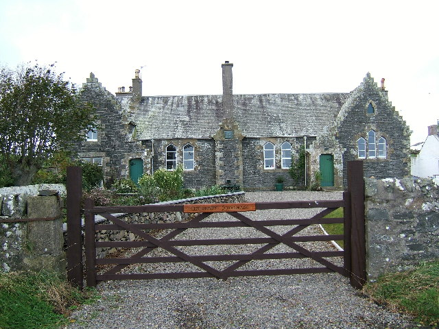 The old schoolhouse at Clachanmore, Ardwell.
