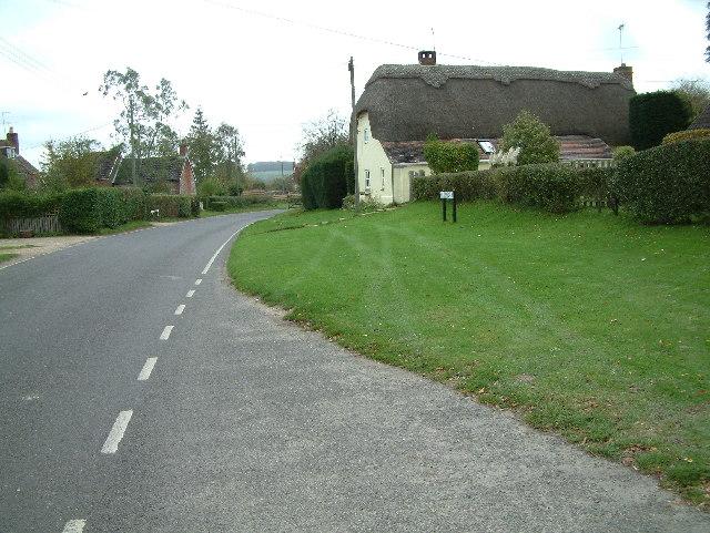 Martin village, Hampshire