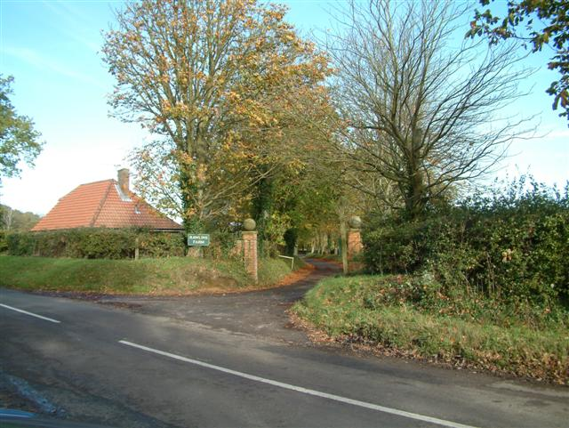 The Entrance to Rawlins Farm